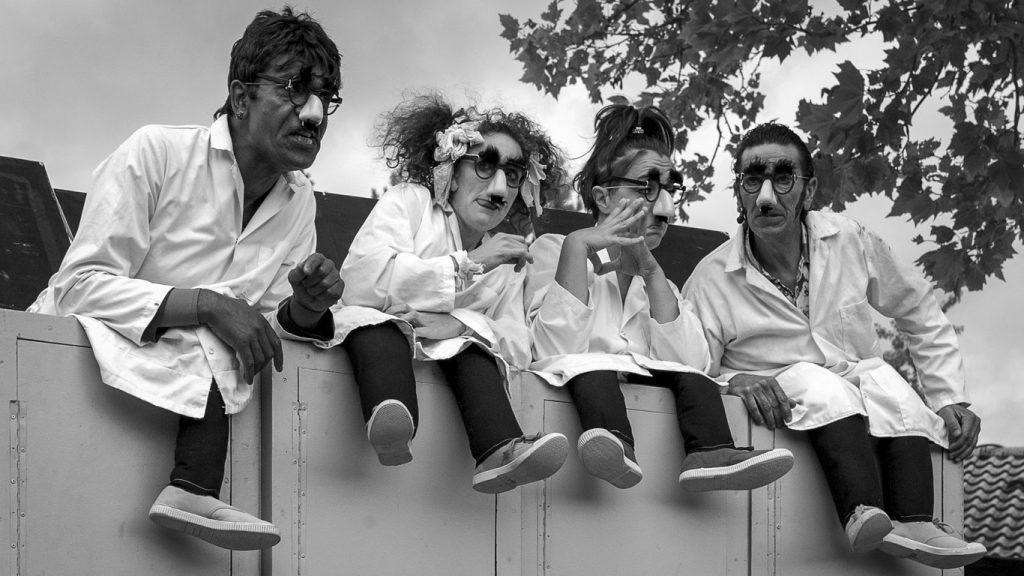 Sortie de secours-Théâtre de Caniveau ©Vincent d'Eaubonne