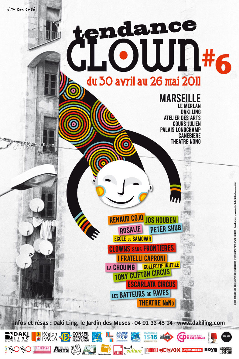 Tendance-Clown#6-Affiche2011